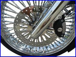 11.5 Super Spoke Front Brake Rotors Free Bolts Harley Touring Road King Parts