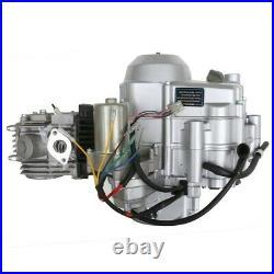 125cc 3+1 Semi Auto Engine Motor 3 Speed + Reverse Gear QUAD ATV BUGGY Go Kart N