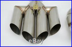 1320 Performance Polaris slingshot quad tip and rear pipe only