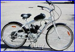 66cc 80cc Complete Bike 2 Stroke Gas Engine Motor Kit DIY Motorized Bicycle