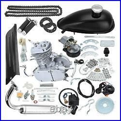 80CC 2 Stroke Motorised Bike Petrol Motor Engine Kit Motorized Push Bicycle MTB