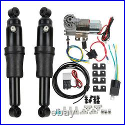 Air Ride Suspension Kit For Harley Touring Bagger Road Street Glide 1994-2021