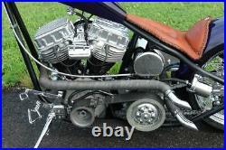 BDL 3 Open Belt Drive Primary Kickstart 1955-1984 Harley Panhead & Shovelhead