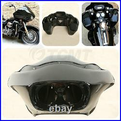 Black ABS Injection Inner Outer Fairing Fit For Harley FLTR Road Glide 1998-2013