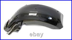 CVO Dual Cut Out Stretched Extended Rear Fender w LED for 09-20 Harley Touring