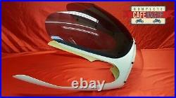 Cafe Racer Fairing With Smoked Screen & Headlight Bubble Rickman / Avon Style