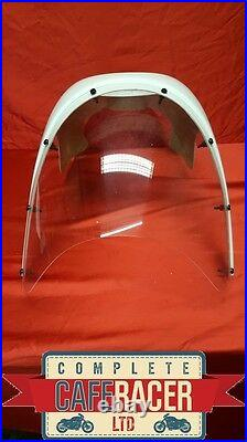 Cafe Racer Old Bmw Style Fairing With Clear Screen