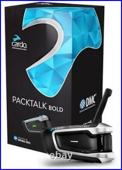 Cardo PACKTALK BOLD JBL Communication System Single Unit