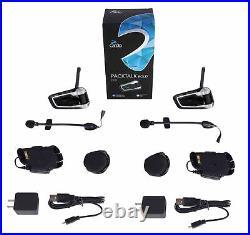 Cardo Scala Packtalk BOLD DUO Motorcycle Bluetooth Helmet Headset Intercom Dual
