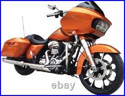 Coastal Moto Largo Front 21 X 3.5 Wheel Black Cut Harley 08-20 Touring With Abs