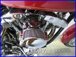 Cv40mm Carburetor For Harley Davidson Shovelhead Performance Tuned