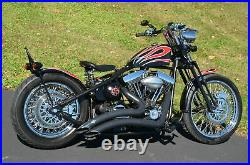 DNA 2 Under 20 Black Springer Front End Harley Sportster Chopper Softail Dyna