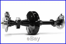 DNA Trike Axle Conversion Kit 1 1/8 70 Tooth Pulley Belt Drive Harley Chopper