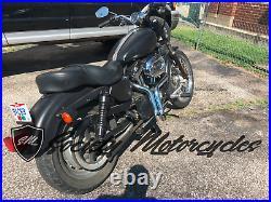 Drag Pipes Harley Davidson LAF 1 3/4 Sportster 883 Exhaust 1984-2014 HD Header