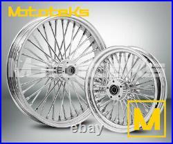 Fat Spoke Wheel 21x3.5 & 16x3.5 40 Fat Harley Touring Bagger Models 2000-2008