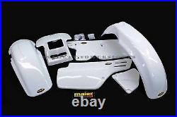 Front Rear Fenders Side Panels Cover Honda XR250 XR350 XR600 R Plastic Kit #M195