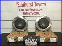 GENUINE OEM TOYOTA 2007-2020 Tundra 2008-2020 Sequoia Front Brake Pads & Rotors