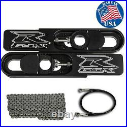 GSXR 600/750 Swing Arm Extensions 2006-2009 Complete Kit Lifetime Warranty