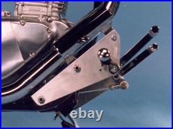 Gimbel Fussrastenanlage vorverlegt SUZUKI LS 650 Savage (NP41) 88-00 silb
