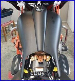 Harley Davidson Extended Street Road Glide 6 Gallon tank Shrouds & Dash #3 Flh