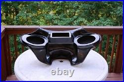 Harley Davidson Road King motorcycle fairing fiberglass batwing 6x9 speakers