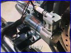 Harley Davidson air ride suspension TOURING! 94-20 WITH COMPRESSOR BRACKET