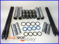 Harley Twin Cam 99 15 Adjustable Pushrods and Push Rod Covers and Lifters NEW