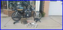 Harley sportster 1977 XLCR 1970s Cafe racer low serial number 43rd motorcycle