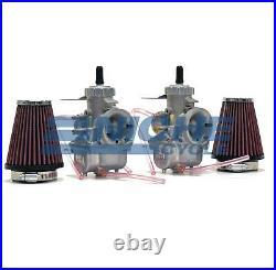 Honda CB350 CL350 CB360 Mikuni VM32 Complete Race Carburetor Kit with Cables