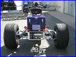 Independent Suspension Trike Conversion Kit for Harley Davidson and Most Bikes