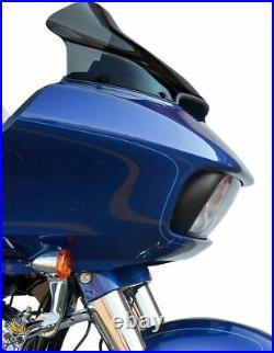 Klock Werks 14 Sport Flare Dark Smoke Windshield 2015-2021 Harley Road Glide