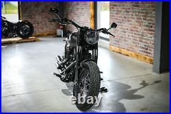 LED SCHEINWERFER 7 mit Zulassung Harley FAT Boy Low Special Slim BSB Customs