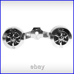 Love Jugs Cool-Master Engine Horn Mounted Cooling Fan Polished Chrome Harley