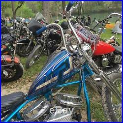 Lowbrow Customs Narrow Sporty Frisco Gas Tank Harley Sportster chopper bobber