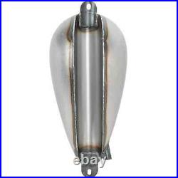 Lowbrow Customs Ovate Gas Tank 1.6 gal Narrow Axed chopper bobber triumph xs650