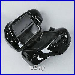 Lower Vented Leg Fairing + 6.5 Speakers With Grills For Harley Touring 2014-2020