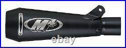 M4 Exhaust Yamaha R6 2006 2020 GP GP Mount slip on with BLACK muffler