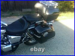 Mutazu Universal MU Hard Bag Saddlebags 4 Cruisers, metric, Touring motorcycles
