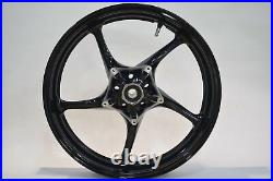 NEW GLOSS BLACK Front Wheel Yamaha 2004-2012 R1, 03-12 R6, 06-09 R6S & FZ1 Rim