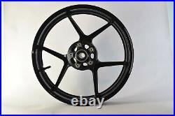 NEW GLOSS BLACK Front Wheel ZX6R 2005-2019 ZX10R 2006-2010 636 Rim Kawasaki 2007