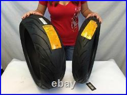 New CONTINENTAL Front 120/70-17 and 1 Rear 190/50-17 Conti Motion Pair Tire Set