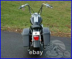 New Chrome Slip-On Ons Mufflers Exhaust 1995-2016 Harley Touring Dresser Bagger
