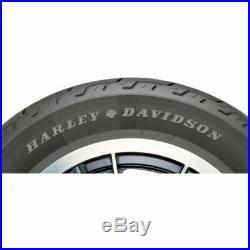 New Harley Davidson Dunlop D402 Front Blackwall Black Wall Tire MT90-16 MT90B-16