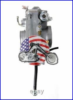 New Mikuni HSR42mm HSR TM42-6 42mm Carb Carburetor Harley Evo Evolution Twin Cam