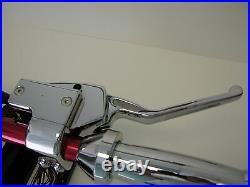 OUTLAW CHROME HANDLEBAR HAND CONTROLS With MICRO SWITCHES HARLEY