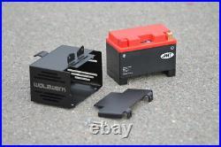 Orig. WalzWerk Batteriekasten hide away BMW R65/R80/R100 schwarz
