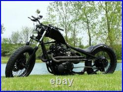 Pandemonium 1.5 Raw Ya Mama XS650 Yamaha Drag Side Pipe Exhaust Chopper Bobber