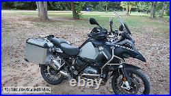 Pannier System (Left+Right Bags) For BMW R1200GS 2013-2020 ADVENTURE LOCKS+MOUNT