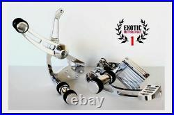 Polish Billet Aluminum Forward Controls Harley Softail 1984/1999