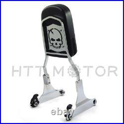 Quick Detachable Sissy Bar Passenger Backrest for Harley Davidson Softail